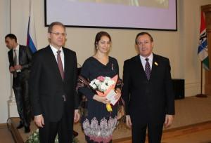 Награждение Куркиной Румяны Алексеевны