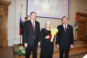 Награждение Малаховой Ольги Владимировны