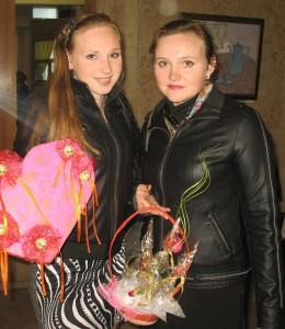 Полеевы Вика и Наталья