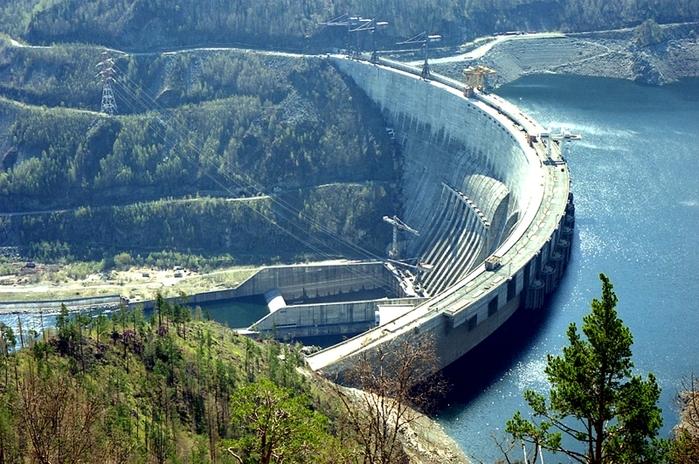 Саяно-Шушенская ГЭС в фотографиях
