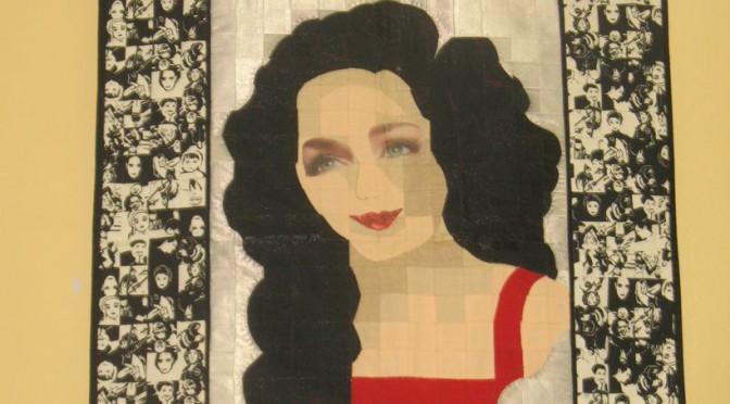 Эта женщина в шитье