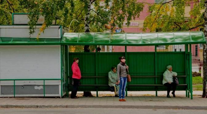 В Академгородке появилась остановка с подогревающимися сидениями