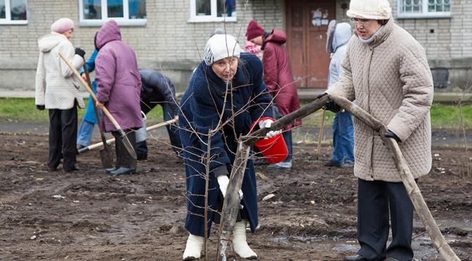 Местные власти уделят внимание уборке снега на Динамовцев