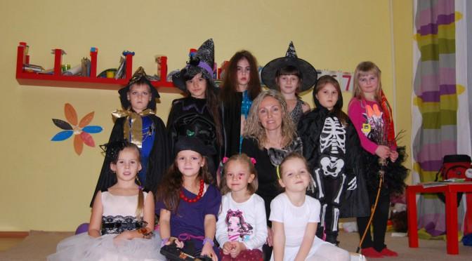 В детском клубе «Варечка»прошел  веселый праздник Halloween!