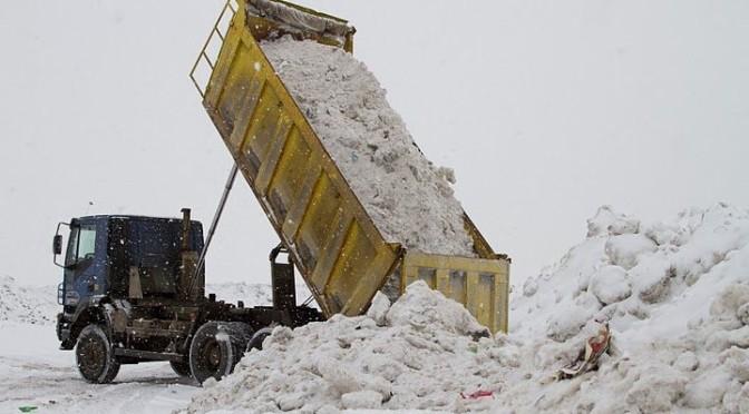 Наша почта: «Помогите ликвидировать снегоотвал!»