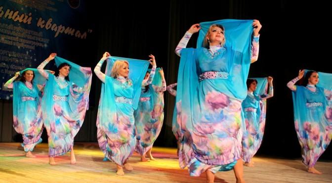 Танец в помощь больным детям