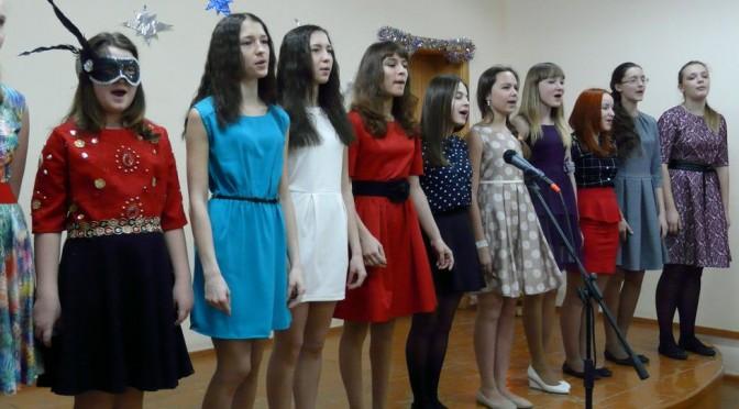 Дети поют Чайковского