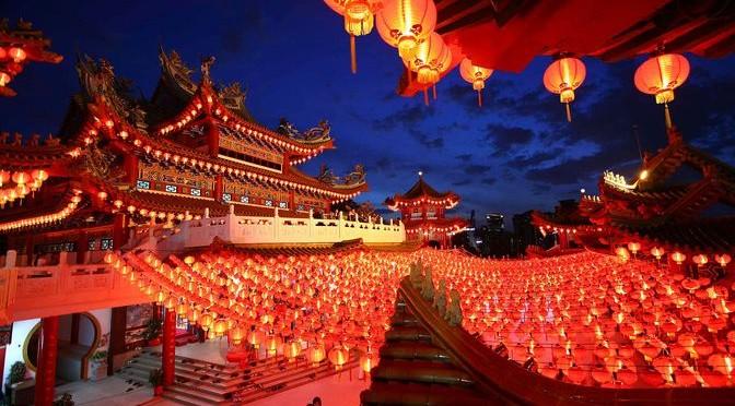 Празднование китайского нового года в школе № 112: красная обезьяна заняла трон