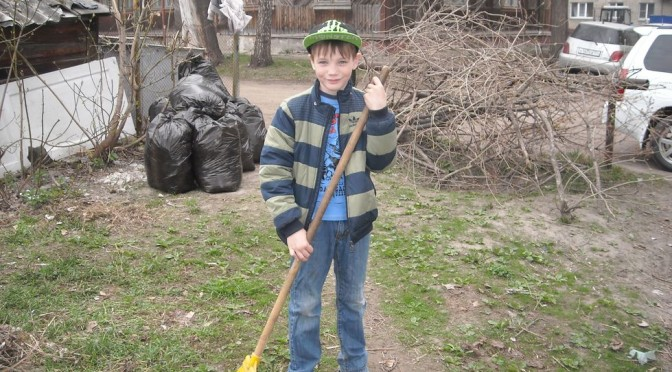 Чтобы родной Новосибирск стал чище