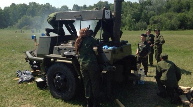 Военно-исторический фестиваль «Сибирский Огонь-2016»