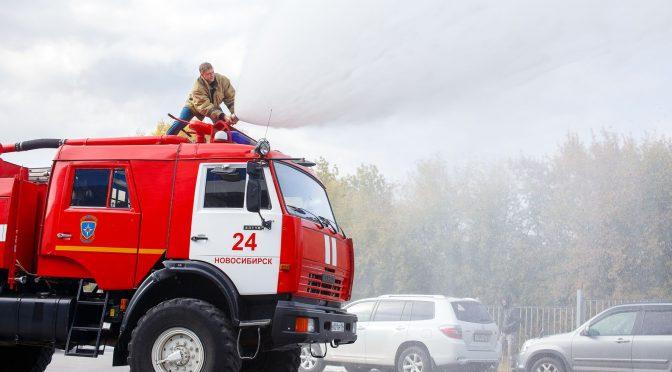 Встреча с огнеборцами: интересно и полезно!