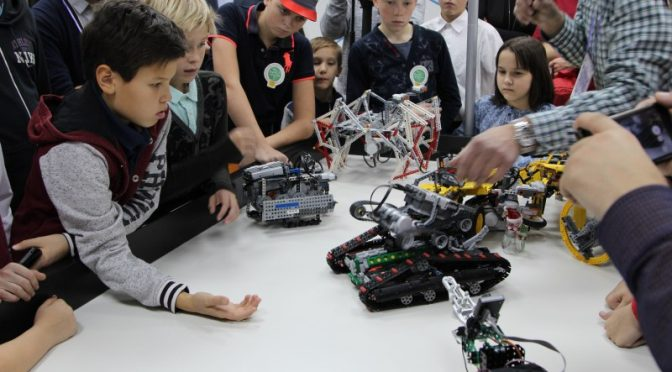 Робототехника — игра для творческих и интеллектуальных.