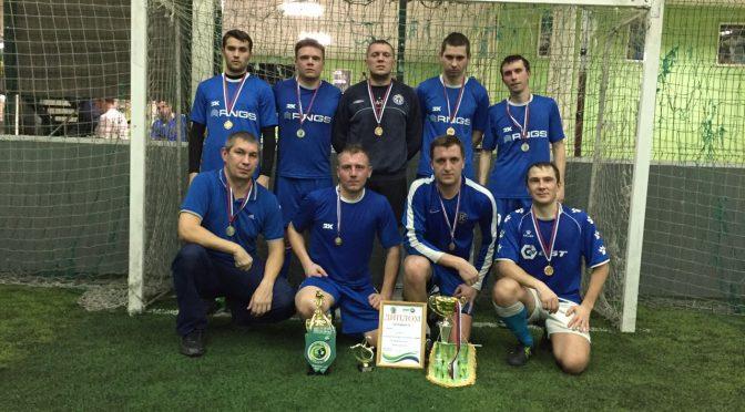 Горожане сразились в футбольном турнире