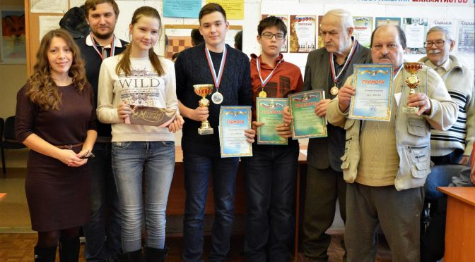XIII шахматный Рейтинг-турнир завершен!