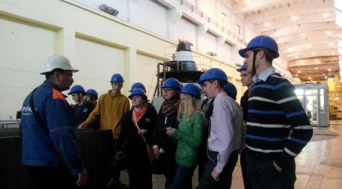Новосибирская ГЭС приглашает школьников в Энергокласс ПАО «РусГидро»