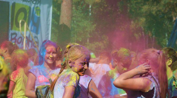 Разноцветный фестиваль на ОбьГЭС