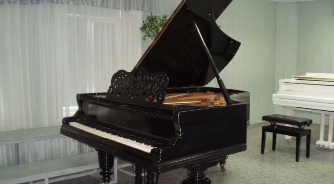 Насладитесь чарующими звуками рояля!